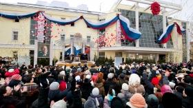 Den nya Scientologi-kyrkan i Moskva invigdes inför över 2 000 scientologer, ryska religiösa dignitärer och ledande personer inom mänskliga rättigheter. Ceremonin innebar öppnandet av den första större Scientologi-kyrkan inom den Ryska federationen.