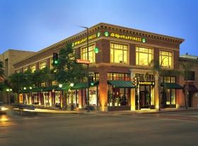 Vägen till lycka-stiftelsen i Glendale i Kalifornien.