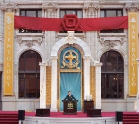 David Miscavige invigde det restaurerade landmärket Transamerica-byggnaden, i hjärtat av centrala San Francisco, för en ny era av andlig verksamhet.
